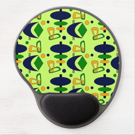 Customizable Retro Shapes Gel Mouse Mat