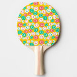 Customizable Retro Shapes Ping Pong Paddle