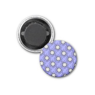 Customizable Retro Starburst 1 Inch Round Magnet