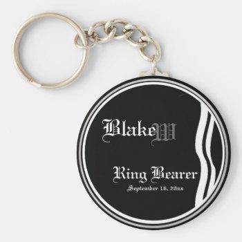 Customizable Ring Bearer Keepsake Keychain by 4westies at Zazzle