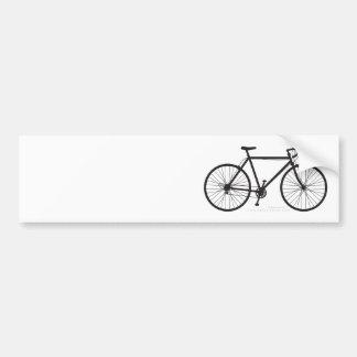 Customizable Road Cycling Bumper Sticker