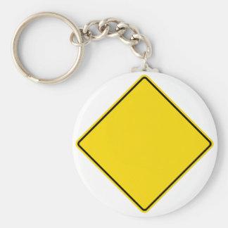 Customizable Road Sign Keychain