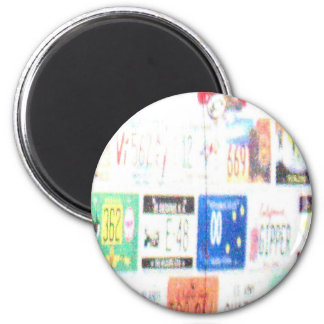 Customizable Road Trip 2 Inch Round Magnet