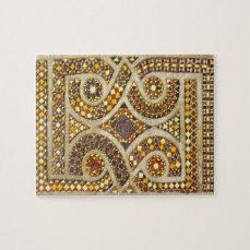 Customizable Romanesque Motifs Jigsaw Puzzle
