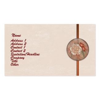 Customizable Rose Border Business Card