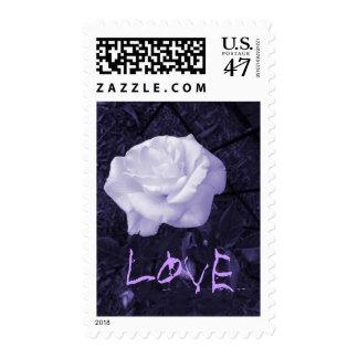 Customizable Rose Love Stamp