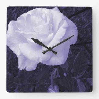 Customizable Rose Square Wall Clock