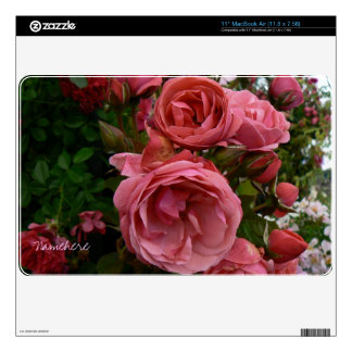 Customizable: Roses Skin For MacBook Air