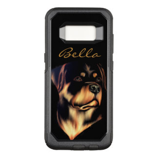 Customizable Rottweiler OtterBox Commuter Samsung Galaxy S8 Case
