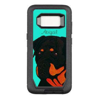 Customizable Rottweiler OtterBox Defender Samsung Galaxy S8 Case