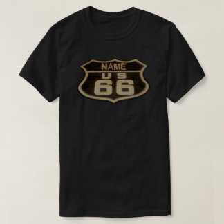 Customizable Route 66 Vintage Sign T-Shirt
