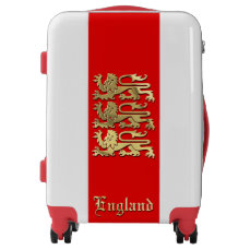 Customizable Royal Arms of England Luggage