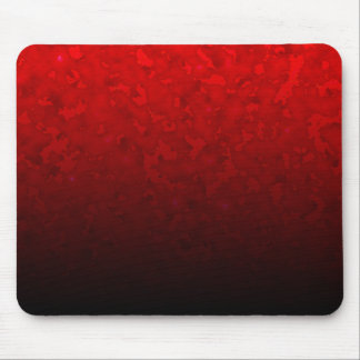 Customizable Ruby Red Clouded Fade Mouse Pad