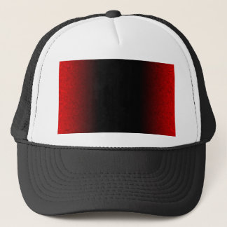 Customizable Ruby Red Clouded Fade Trucker Hat