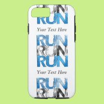 Customizable RUN x 3 Runners iPhone 8/7 Case