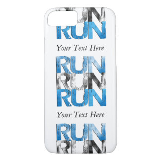 Customizable RUN x 3 Runners iPhone 8/7 Case