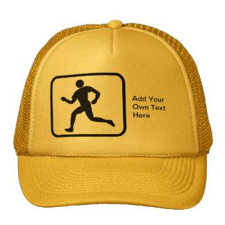 Customizable Runner Logo Hat