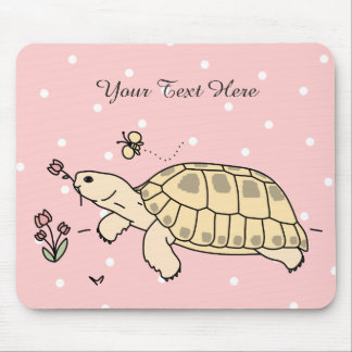 Customizable Russian Tortoise Mouse Pad