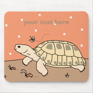 Customizable Russian Tortoise Mousepad