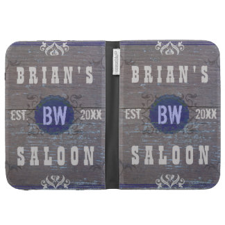 Customizable Rustic Saloon: Wood Grain Case For The Kindle