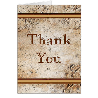 Customizable Rustic Thank You Cards or YOUR TEXT