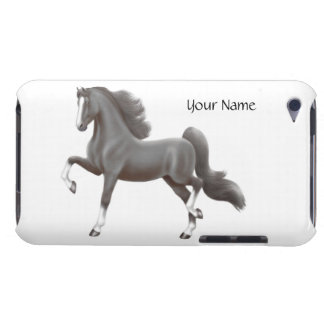 Customizable Saddlebred Horse iPod Touch Case