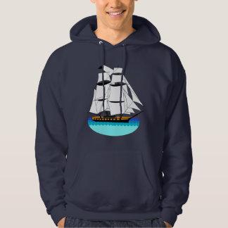 Customizable Sailing Ship Hoodie