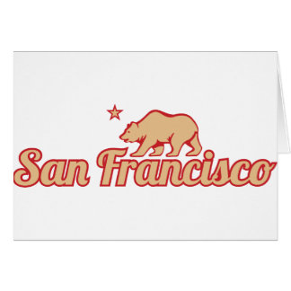 Customizable San Francisco Card