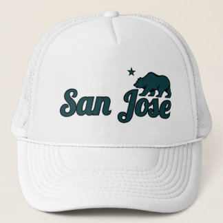 Customizable San Jose Trucker Hat