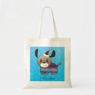 Customizable: Santa doggy Bag