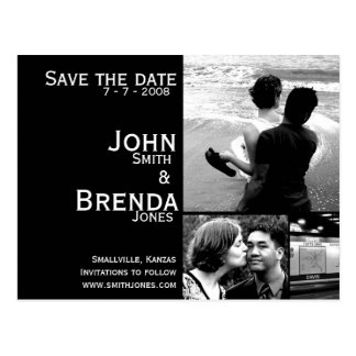 Customizable Save the Date Announcement Postcards