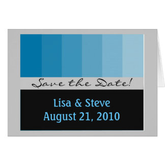 Customizable save the date merchandise card