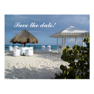 Customizable Save the Date Post Card