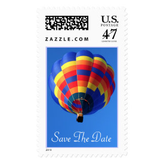 Customizable Save The Date Postage Stamp
