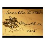 Customizable Save the Date! Postcards