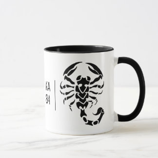 Customizable - Scorpion and Your Initials Mug. Mug