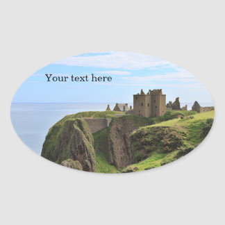Customizable Scottish Castle Sticker
