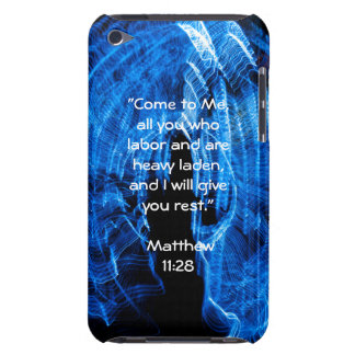 Customizable Scripture Abstract iPod Touch 4 Case