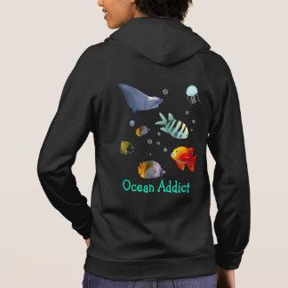 Customizable Sea Life Scene Hoodie