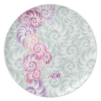 Customizable: Sea shells Dinner Plate
