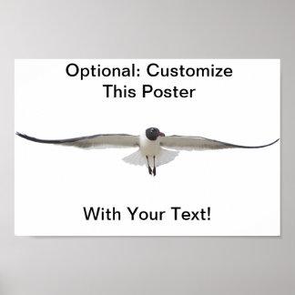 Customizable Seagull Poster