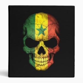 Customizable Senegal Flag Skull Binders