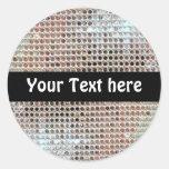 Customizable Sequin Sticker