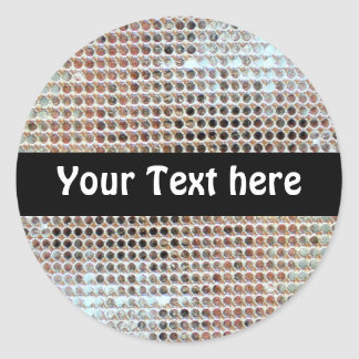 Customizable Sequin Sticker