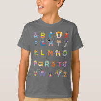 Customizable Sesame Street Alphabet T-Shirt
