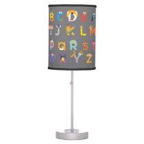 Customizable Sesame Street Alphabet Table Lamp