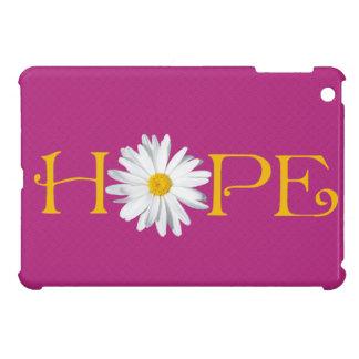 Customizable Shasta Daisy Hope Hot Pink Yellow Cover For The iPad Mini