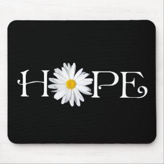 Customizable Shasta Daisy Hope Mousepad