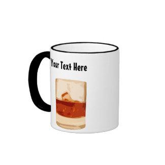 Customizable Shot Tumbler Glass Coffee Mug