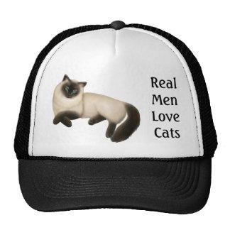 Customizable Siamese Cat Hat